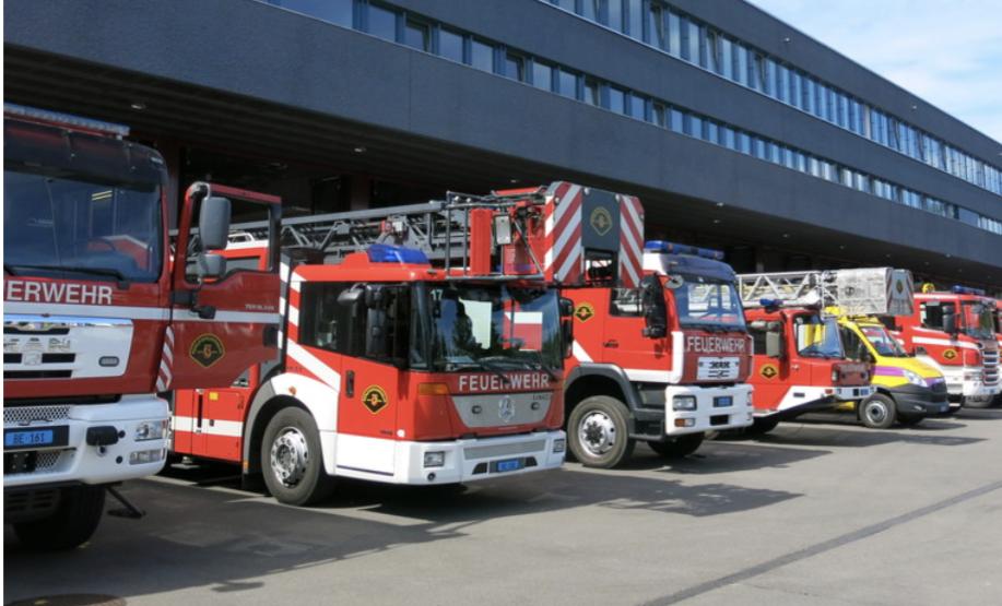 Führung Berufsfeuerwehr Bern