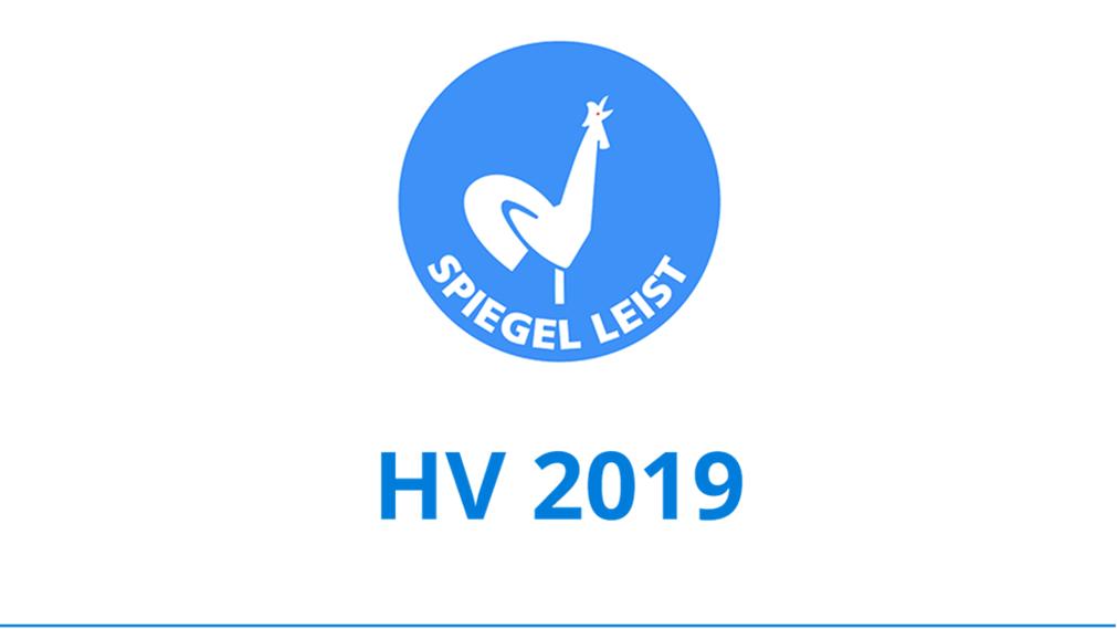 Unterlagen HV 2019